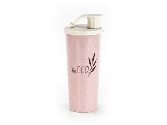 BeECO Shaker G21 Fitness 450 ml, ružový