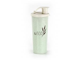 BeECO Shaker G21 Fitness 450 ml, zelený