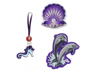Step by Step doplnkový set obrázkov MAGIC MAGS k aktovkám Space, Delfíny