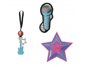 Step by Step doplnkový set obrázkov MAGIC MAGS Popstar k aktovkám Space, SPACE, CLOUD a KID