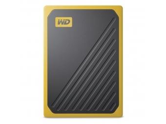 WD My Passport Go SSD, USB 3.0, 500 GB čierna/žltá