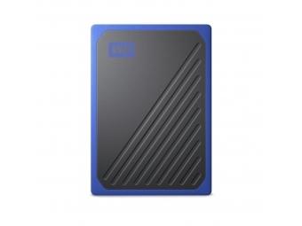 WD My Passport Go SSD, USB 3.0, 500 GB čierna/modrá