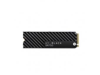 WD Black SN750 SSD 500 GB s chladením