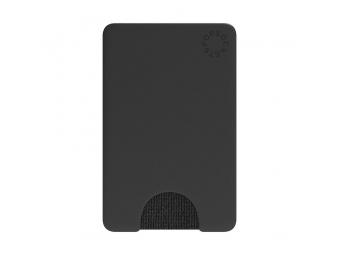 PopSockets PopWallet Black, puzdro na mobil na karty/vizitky a pod.
