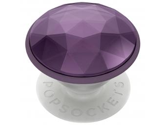 PopSockets PopGrip Gen.2, Disco Crystal Orchid, 3D disco guľa levanduľová