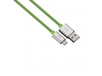 Hama 80514 micro USB kábel Color Line, 1 m, zelený