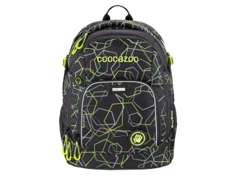 Coocazoo školský ruksak Rayday, Laserbeam Black