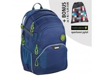 Coocazoo školský ruksak JobJobber2, Solid Seaman + BONUS ŠPORTOVÝ VAK