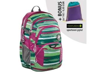 Coocazoo školský ruksak JobJobber2, Backpack, Bartik + BONUS ŠPORTOVÝ VAK