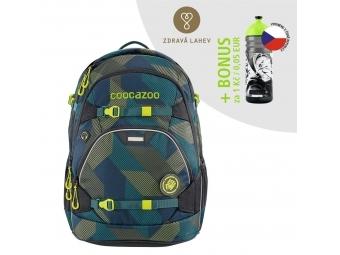 Coocazoo školský ruksak ScaleRale, Polygon Bricks, certifikát AGR + BONUS ZDRAVÁ FĽAŠKA