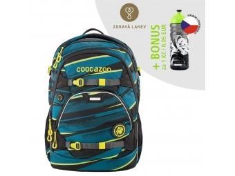 Coocazoo školský ruksak ScaleRale, Wild Stripe, certifikát AGR + BONUS ZDRAVÁ FĽAŠKA