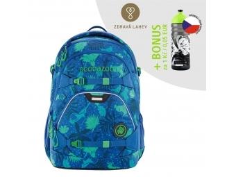 Coocazoo školský ruksak ScaleRale, Tropical Blue, certifikát AGR + BONUS ZDRAVÁ FĽAŠKA