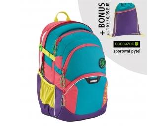 Coocazoo školský ruksak JobJobber2, Holiman + BONUS ŠPORTOVÝ VAK