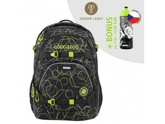 Coocazoo školský ruksak ScaleRale, Laserbeam Black, certifikát AGR + BONUS ZDRAVÁ FĽAŠKA