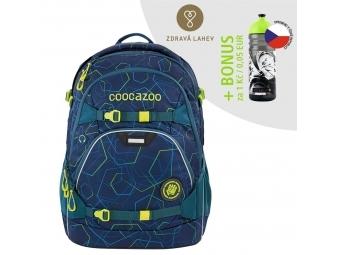 Coocazoo školský ruksak ScaleRale, Laserbeam Blue, certifikát AGR + BONUS ZDRAVÁ FĽAŠKA
