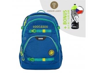 Coocazoo školský ruksak ScaleRale, Waveman, certifikát AGR + BONUS ZDRAVÁ FĽAŠKA