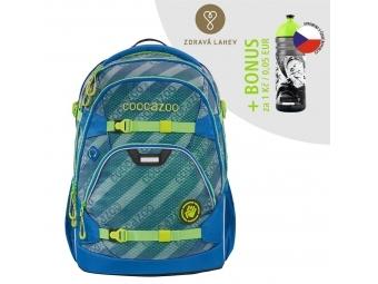 Coocazoo školský ruksak ScaleRale, MeshFlash Neonyellow, AGR + BONUS ZDRAVÁ FĽAŠKA