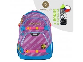 Coocazoo školský ruksak ScaleRale, MeshFlash Neonpink, AGR + BONUS ZDRAVÁ FĽAŠKA