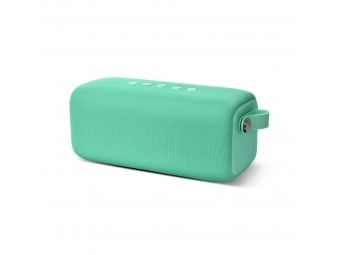 FRESH ´N REBEL Rockbox Bold L, Bluetooth reproduktor, vode odolný, Peppermint, bledozelený