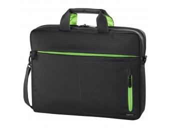 "Hama 101786 taška na notebook Marseille, 40 cm (15,6""), šedá/zelená"