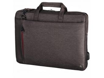 "Hama 101872 taška na notebook s integrovaným USB káblom Manchester, 40 cm (15,6""), hnedá"