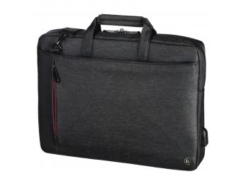 "Hama 101873 taška na notebook s integrovaným USB káblom Manchester, 44 cm (17,3""), čierna"