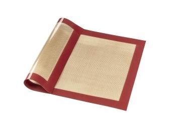 Xavax silikónová podložka na pečenie, 40x30 cm, hnedá/červená