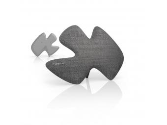 Thomson ANT1639 aktívna izbová anténa Sculpture, DVB-T/DVB-T2, textilný povrch, šedá