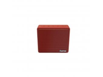 Hama 173122 mobilný Bluetooth reproduktor Pocket, červený
