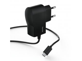 Hama 173670 sieťová nabíjačka s káblom, micro USB, 1 A