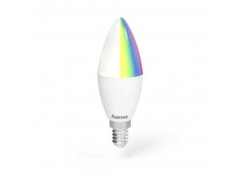 Hama 176549 WiFi LED žiarovka, E14, 4,5 W, RGB, stmievateľná