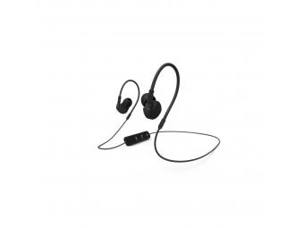 Hama 177094 Bluetooth clip-on slúchadlá s mikrofónom Active BT, čierna