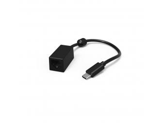 Hama 177104 sieťový adaptér USB-C 3.1, typ C - RJ45, 1000 Mb/s