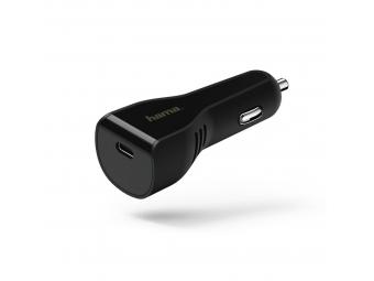 Hama 178313 rýchla USB nabíjačka do vozidla, USB-C, Power Delivery, 3 A