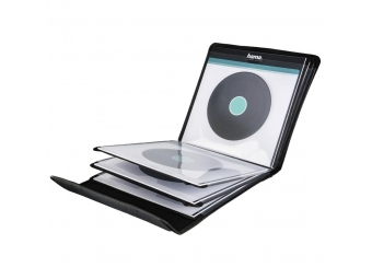 Hama 181440 puzdro na 12 gramofónových platní (vinyl/LP), čierne