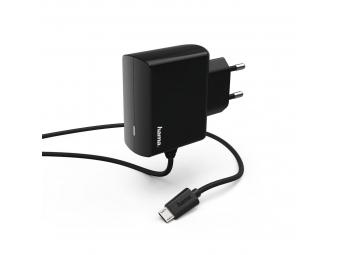 Hama 183247 sieťová nabíjačka s káblom, micro USB, 2,4 A