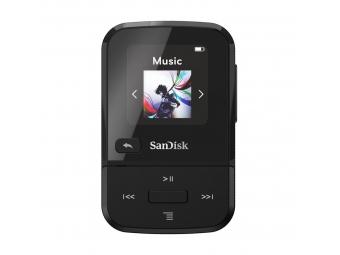 SanDisk MP3 Clip Sport GO 16 GB čierna