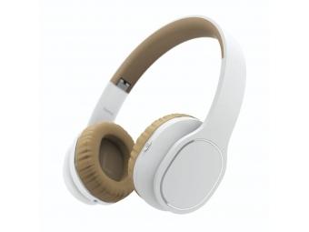 Hama 184028 Bluetooth slúchadlá Touch, uzavreté, dotykové, biele