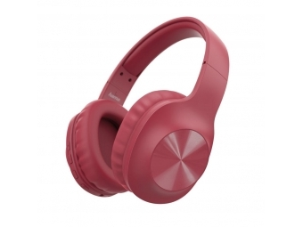 Hama 184060 Bluetooth slúchadlá Calypso, uzavreté, červené