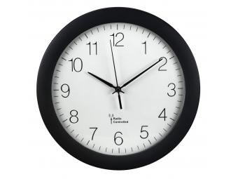 Hama 186336 PG-300, nástenné hodiny riadené rádiovým signálom, čierne