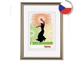 Hama 34982 rámček plastový MADRID, oceľová, 13x18 cm