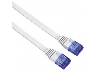 Hama 53773 sieťový patch kábel Cat6, UTP, plochý, 5 m