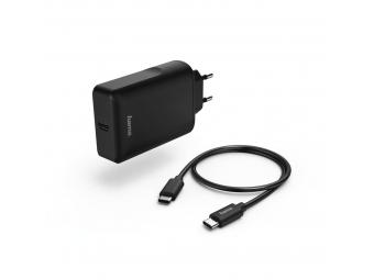 Hama 54176 sieťová USB nabíjačka Power Delivery, USB-C kábel, 45 W