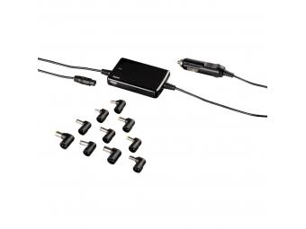 Hama 54189 univerzálny napájací zdroj pre notebook do auta, 15-19 V, 70 W