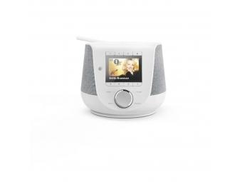 Hama 54229 digitálne rádio DIR3200SBT, FM/DAB/DAB+/internetové rádio, Bluetooth, biele