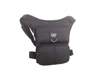 CAT MILLENNIAL CLASSIC STEVE taška s pripevnením na nohu, čierna