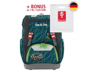 Step by Step školský ruksak GRADE Pavúk + BONUS Dosky na zošity