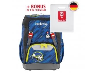 Step by Step školský ruksak GRADE Fotbal + BONUS Dosky na zošity