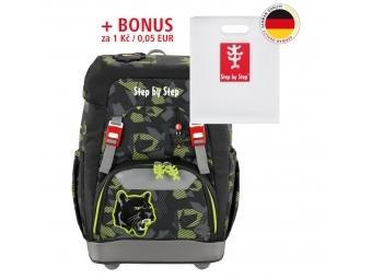 Step by Step školský ruksak GRADE Čierny panter + BONUS Dosky na zošity