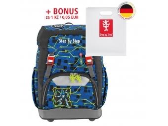 Step by Step školský ruksak GRADE Robot + BONUS Dosky na zošity